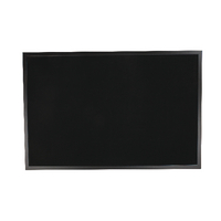 Bi-Office Memo Board 600x900 Blk Frame