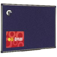 Bi-Office Blu Feltboard 900x600 Alu/Fnsh