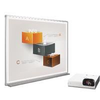 Bi-Office Bright 72in W-Brd/Projector