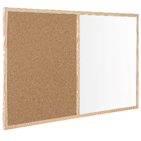 Bi-Office 900x600mm Cork/Wipe Off Board