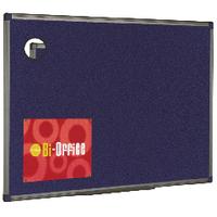 Bi-Office Blu Feltboard 1200x900 Al/Fnsh