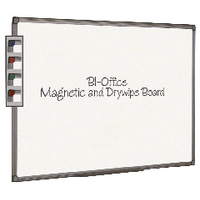 Bi-Office 600x450mm Magnetic Whiteboard