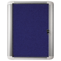Bi-Office 626x670mm Blue Ext Disp Case