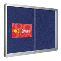 Bi-Office Locking 890x625mm Display Case