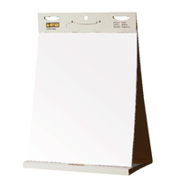Bi-Office Table Self Stick Flipchart Pad