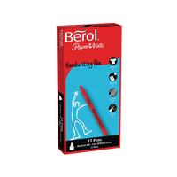 Berol Handwriting Blue Pen Pk12