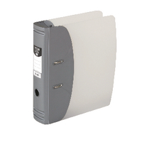 Hermes Lever Arch File H/Duty A4 Silver