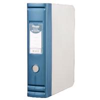 Hermes Blue A4 Hvy Duty 2D Ring Box File