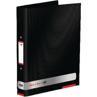 Black n' Red By Elba Ring Binder