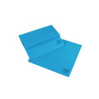 Elba Bright Manilla Blue Doc Wallet Pk25
