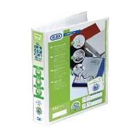 Elba Pres A4 4D-Ring 40mm White Binder