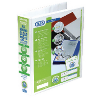 Elba Pres A4 4D-Ring 50mm White Binder