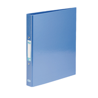 Elba Metallic Blue A4 Ring Binder 25mm