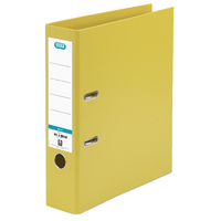 Elba Yellow A4 Lever Arch Upright 70mm