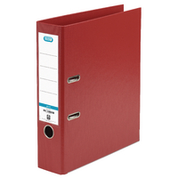 Elba A4 Red 70mm Lever Arch PVC Upright