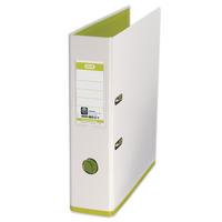 Mycolour White/Lime A4 Lever Arch File