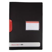 Black n Red Clip File A4 PK5 BOGOF
