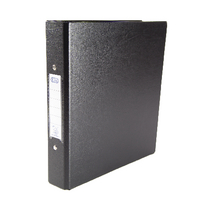 Elba A5 Black 2-O Ring Binder Pk10