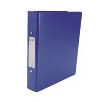 Elba A5 Blue 2-0 Ring Binder Pk10