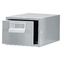 Bisley Grey Card Index Cabinet 6x4in SGL