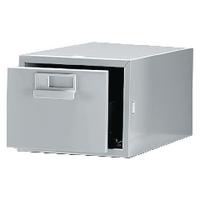 Bisley Grey Card Index Cabinet 8x5in SGL