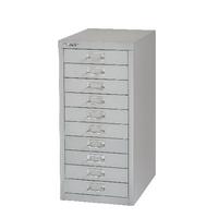FF Bisley 10 Drw Cabinet Grey