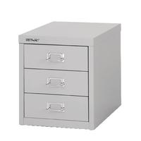 FF Bisley 3Drw Cabinet Grey