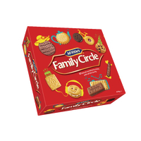 Family Circle Biscuit Assortment 720g