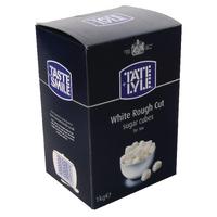 Tate & Lyle Rough Cut Wht Sugr Cubes 1kg