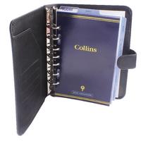 Collins Black Chatsworth Desk Organiser
