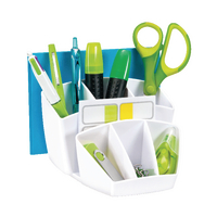 CEP White ProGloss Desk Tidy 580G