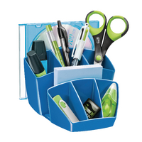 CEP Blue ProGloss Desk Tidy 580G