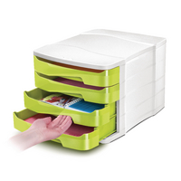 CEP Pro Green Gloss Drawer Set 394Bi