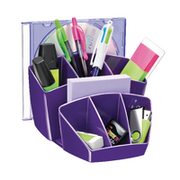 CEP Purple ProGloss Desk Tidy 580G