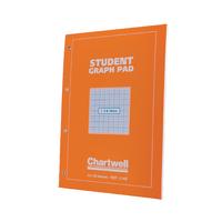 Chartwell Graph A4 Pad 1/5/10mm J14B