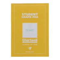 Chartwell Graph A4 Pad Yellow/Blue J424B