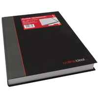 Collins Ideal A4 Notebook Ruled 6448