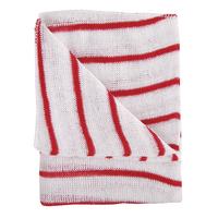 Red/White Hygiene Cloth 16x12 Pk10