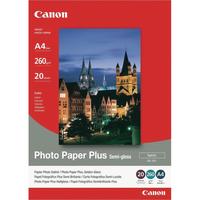 Canon A4 Photo Paper Plus Sem-Gloss Pk20