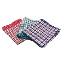 Check Tea Towels Assorted 430x680mm Pk10
