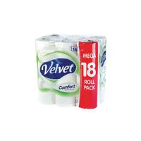 Triple Velvet Toilet Roll 3-Ply Pk18