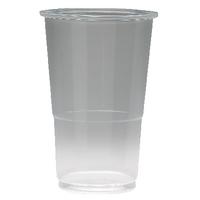 Plastic Half Pint Glass Pk50