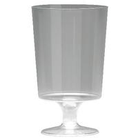 Plastic Stem Wine Glass Pk25 KPLPWG