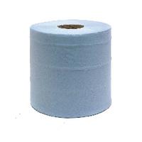 Maxima 2-Ply C/feed Blue Hand Wipe Pk6