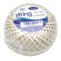 County Cotton String Ball Medm 60m C176