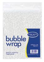 County Bubble Wrap Sheet 600mm x1M C22
