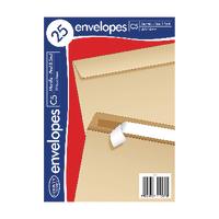 C5 Manilla Envelopes 25 Pk20