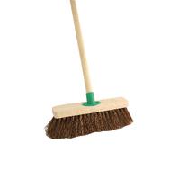 Bassine 12in Stiff Broom / Handle T/C4