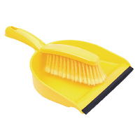 Dustpan and Brush Set Yellow 102940YL