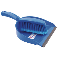 Blue Dustpan and Brush Set 8011/B